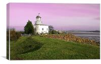 West Usk Lighthouse, Canvas Print