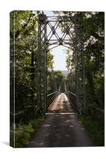 Trericketts Bridge - MId Wales, Canvas Print