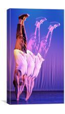 Break Dancer, Canvas Print