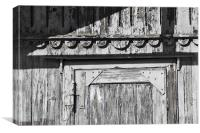 Weathered Boathouse, Trieste, Canvas Print