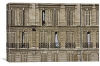 Old Facade, Marseilles, France, Canvas Print
