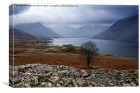 Low cloud on Wastwater, Canvas Print