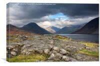 The Peaks of Wastwater, Canvas Print