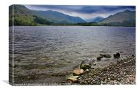 Low cloud on Ullswater, Canvas Print