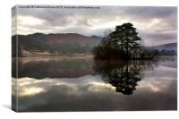 Rydal Water Reflections, Canvas Print