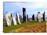 Callanish Standing Stones, Canvas Print