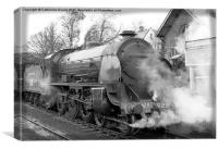 North Yorkshire Moors Railway #2, Canvas Print