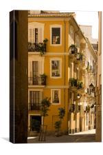 Valencia Street, Canvas Print