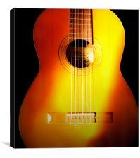 Guitar, Canvas Print
