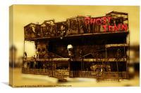 Ghost Train, Canvas Print