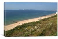 Bournemouth Beaches, Canvas Print