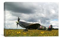 Spitfire Mk IXB, Canvas Print