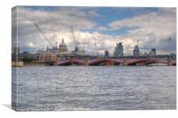 City of London skyline, Canvas Print