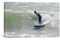 Surfing, Canvas Print