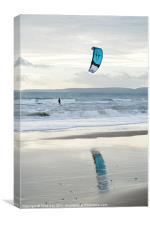 Kite Surfer, Canvas Print