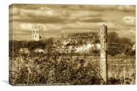 Christchurch Priory, Canvas Print