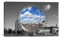 The London Eye, Canvas Print
