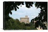 Windsor Castle, Canvas Print