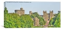 Windsor Castle, Canvas Print