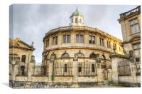 Sheldonian Theatre Oxford, Canvas Print
