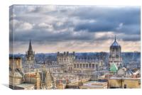 Christ Church Oxford, Canvas Print