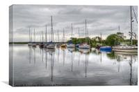 Christchurch Harbour, Canvas Print