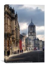 St Aldates Street Road, Canvas Print