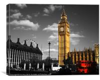 Parliament Square, Canvas Print