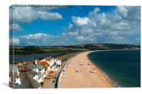 Slapton Sands, Canvas Print