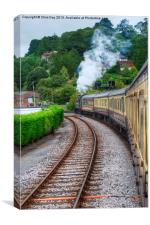 Paignton to Dartmouth Railway, Canvas Print