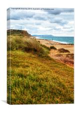 Hengistbury Head, Canvas Print