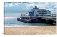 Bournemouth Pier, Canvas Print
