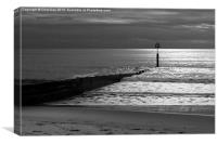 The Groyne, Canvas Print