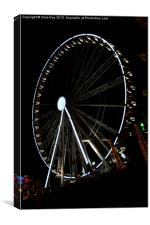 Ferris Wheel at Winter Wonderland, Canvas Print