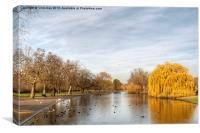 Regents Park in London, Canvas Print
