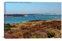 Mudeford Harbour, Canvas Print
