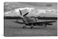 Spitfire Mk IXB MH434, Canvas Print