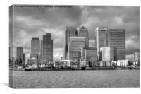 Canary Wharf, Canvas Print