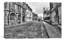 Merton Street Oxford, Canvas Print