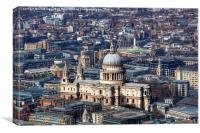 St Pauls Cathedral, Canvas Print