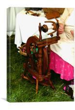 Spinning Jenny, Canvas Print