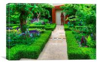 RHS Chelsea Healthy Cities Garden, Canvas Print