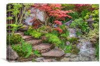 RHS Chelsea Edo No Miwa - Edo Garden, Canvas Print