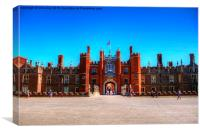 Hampton Court, Canvas Print