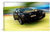 Pontiac Firebird Trans AM, Canvas Print