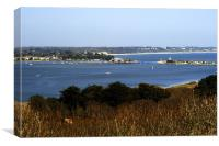 Mudeford Dorset, Canvas Print