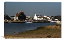 Mudeford Quay, Canvas Print