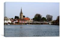 Marlow Buckinghamshire, Canvas Print