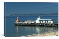 Bournemouth Pier Dorset - May 2010, Canvas Print
