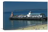 Bournemouth Pier - May 2010, Canvas Print